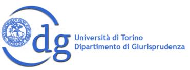 Università di Torino Dipartimento di Giurisprudenza